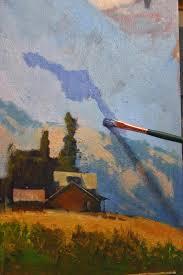 rusty jones painter u0027s blog reworking a plein air study in the studio