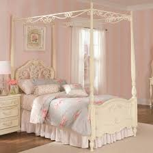 Metal Canopy Bed by Dazzling Metal Canopy Beds With Pattern Cover Bed And Dazzling