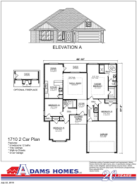 Breland Homes Floor Plans by Carriage Park Adams Homes