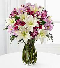 How To Arrange Flowers In A Tall Vase Happy Birthday Flowers Birthday Flowers Ftd