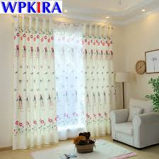 Fabric For Nursery Curtains Princess Kid Curtain Fabric Living Room Children Bedroom
