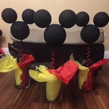 mickey mouse centerpieces mickey mouse clubhouse party diy centerpieces fashion