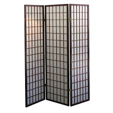 3 Panel Interior Doors Home Depot Home Decorators Collection 5 83 Ft Espresso 3 Panel Room Divider