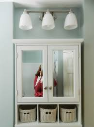 bathroom white lowes medicine cabinets with simple design and