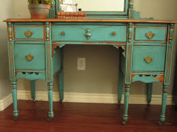 elegant teal varnished antique furnishing bathroom ideas as rustic