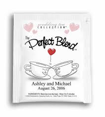 personalized tea bags cups wedding tea favor tea favors personalized tea