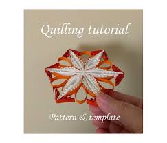 quilling designs tutorial pdf paper quilling supply pattern template make your by evascreation