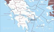 greece map political where is greece located on the world map