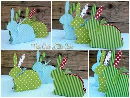 that cute little cake easter craft bunny treat boxes diy