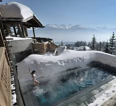 Montana destination travel images Ski swiss alps high end hotels luxury chalets in crans montana