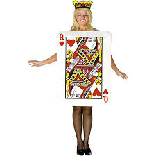 Queen Halloween Costumes Adults Buy Playing Card Queen Halloween Costume Cheap Price