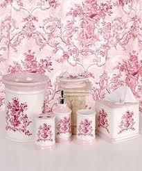 adorable pink bath accessories sets coolest decorating home ideas