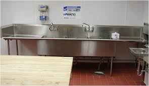 commercial stainless steel sink and countertop stainless steel sinks for commercial food service and restaurants