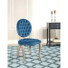 Affordable Upholstered Chairs Royal Blue Upholstered Dining Chairs Dark Ing Uk Patterned Duck
