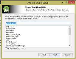android studio install how to install android studio on windows xp 7 8 10 android exles