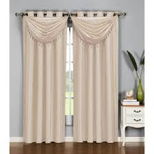 window elements 36 in w x 37 in l jane faux silk grommet