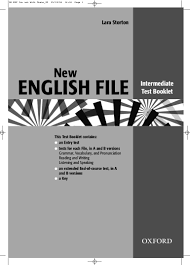 new english files intermediate test booklet