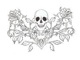 free designs skull wallpaper chainimage