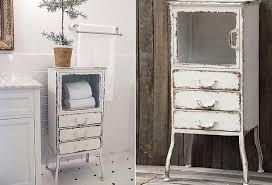 Metal Bathroom Cabinet Amusing 10 Vintage Bathroom Cabinets For Storage Decorating