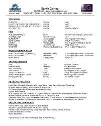 Best Yoga Resume by Resume U2014 Sarah Cortez