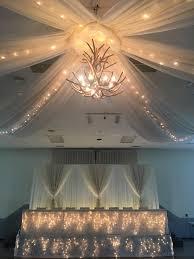 Chandelier Ceiling Canopy Njs Design Event Party Rentals Chandeliers Ceiling Canopies