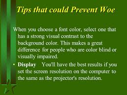 People Who Are Color Blind Introduction To Powerpoint For Administrators Ppt Download