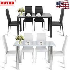 White Table Set - 5 piece dining furniture sets ebay