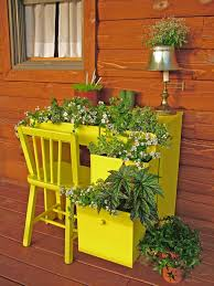 Outdoor Planter Ideas by Fresh And Fun Diy Outdoor Planter Ideas Hgtvs Decorating Patio