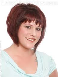 haircuts for round face plus size short hairstyles for plus size round faces google search