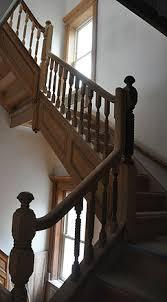 Sanding Banister Brownstone Wood Restoraton