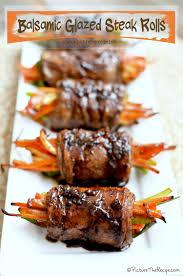 Balsamic Roast Beef In Oven Balsamic Glazed Steak Rolls Picture The Recipe