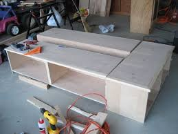 Build Platform Bed Frame With Storage by Best 25 Woodworking Bed Ideas On Pinterest Wood Joining