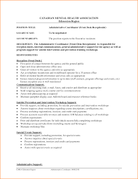 Front Desk Receptionist Sample Resume by Resume Template For Receptionist