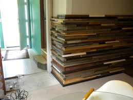 salvaged wood wall corner treatment miguel s research