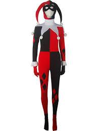 Halloween Costume Harley Quinn Girls Dc Comics Batman Supervillain Harley Quinn Costume Jester