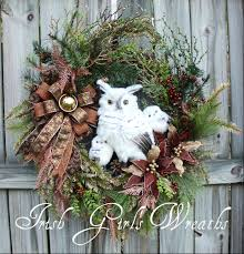 irish u0027s wreaths where difference is in details owls