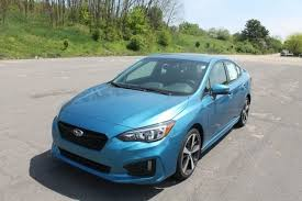 2017 subaru impreza sedan blue used 2017 subaru impreza 2 0i sport for sale in kalamazoo mi near