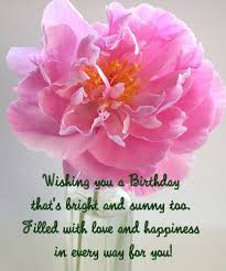 birthday card with message for