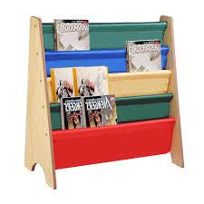 Display Bookcase For Children Kids Bookcase Children Bookshelf Wooden Canvas Book Magazine