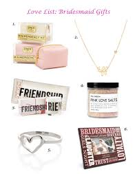 best bridesmaids gifts seattle 6 adorable budget friendly bridesmaid gifts