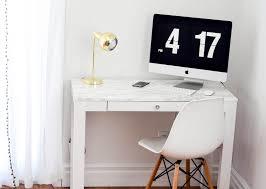 White Parsons Desk Parsons Desk Hack For Under 30 Skylar Elizabeth