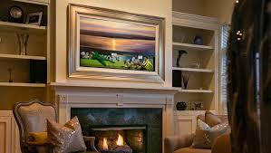 Decorative Flat Screen Tv Covers Custom Tv Frames Custom Tv Frame By Aspen Mills All Things Thrifty