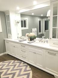 master ensuite with custom vanity shower panels pinterest