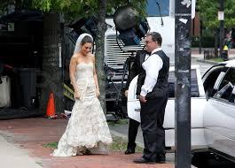 wedding dress cast mila kunis joked around with the cast mila kunis wedding dress