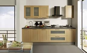 Kitchen Cabinet Plywood Wooden Kitchens For Toddlers Stylish Two Tone Cabinet Utilizing