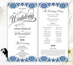 wedding ceremony program wedding programs lemonwedding