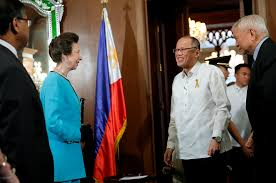 in photos princess anne visits manila