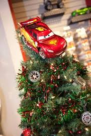 disney s cars ornament tree made out of tires