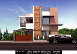 duplex house plans for 30x40 site west facing home shape