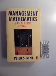 mathematics management abebooks